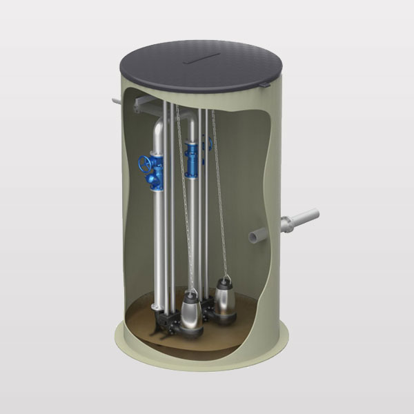 PS.G (стеклопластик) диаметром 1000 мм