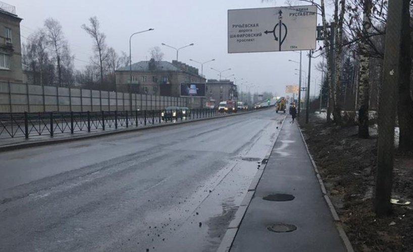 Гидродинамическая очистка ливневой канализации на Пискаревском проспекте