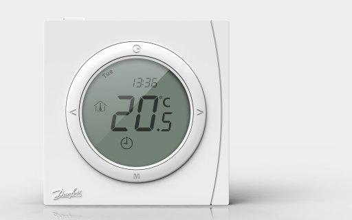 Новый терморегулятор Danfoss ECtemp™ Next Plus: функциональность и доступность