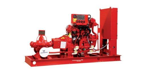 Техническое обслуживание пожарной дизельной насосной установки Grundfos Fire HSEF