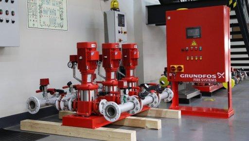 Обновление модельного ряда установок пожаротушения Grundfos Hydro MX и установок повышения давления Hydro MPC