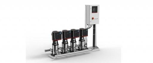 Обновление модельного ряда комплектных установок повышения давления Hydro MPC