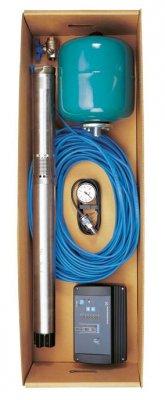 Скважинный насос SQE с комплектом для поддержания постоянного давления