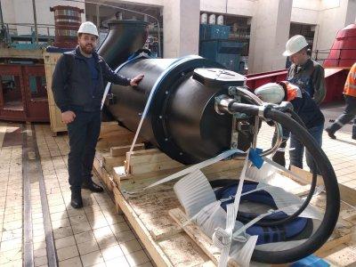 Доставка канализационного насоса Grundfos KSN к месту установки