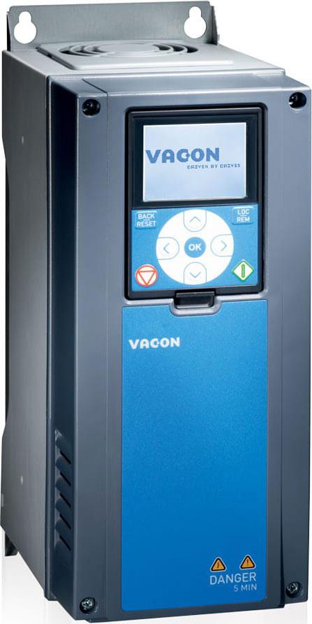 Низковольтные преобразователи частоты VACON 100 HVAC