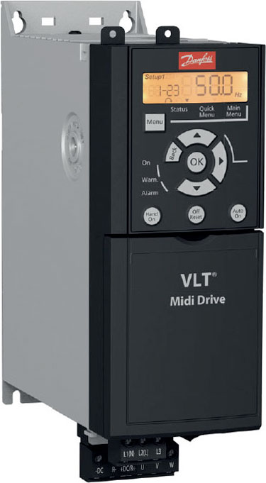 Низковольтные преобразователи частоты Danfoss VLT Midi Drive FC 280