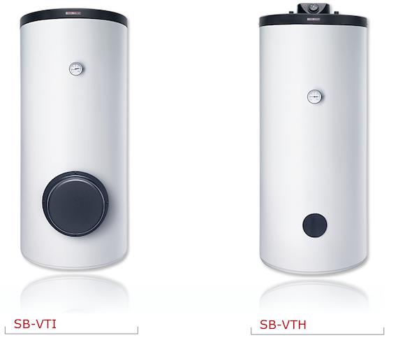 Водонагреватели косвенного нагрева SB-VTI и SB-VTH