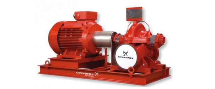 Системы пожаротушения для промышленного применения