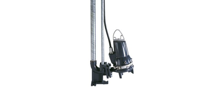 Новые направляющие трубы из оцинкованной стали для насосного оборудования Grundfos