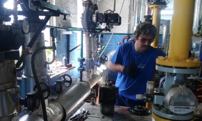 Сервисный центр ГК «Аврора» осуществил плановое обслуживание насосов на объекте Сестрорецкого инструментального завода