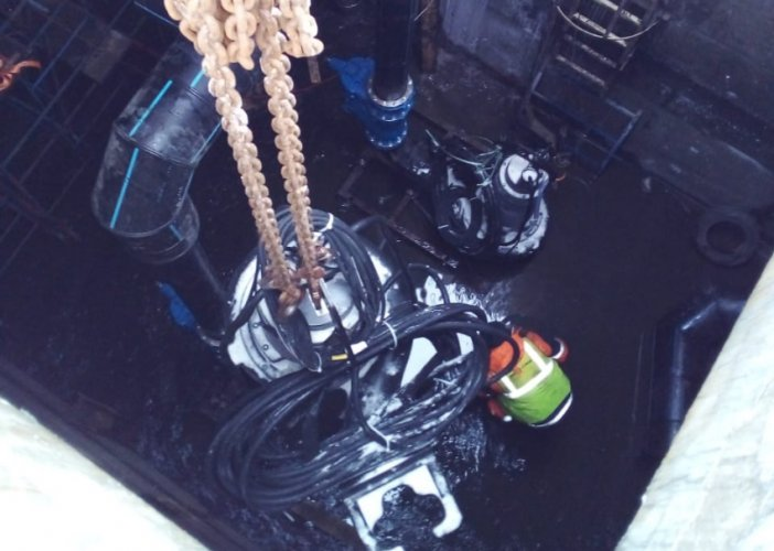 Поставка насосов для перекачивания сточных вод, монтаж и ввод в эксплуатацию оборудования для реконструкции очистных сооружений