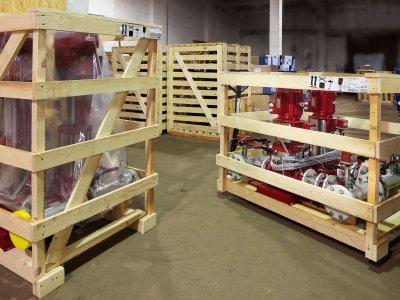 Это прибыли установки пожаротушения Hydro MX – комплексные насосные системы для установок водяного и пенного пожаротушения.