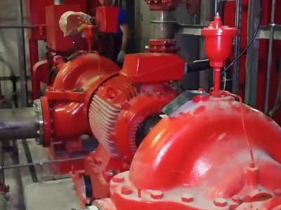 Ввод в эксплуатацию установки пожаротушения HSEF