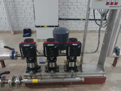 Установки повышения давления Grundfos Hydro MPC-E