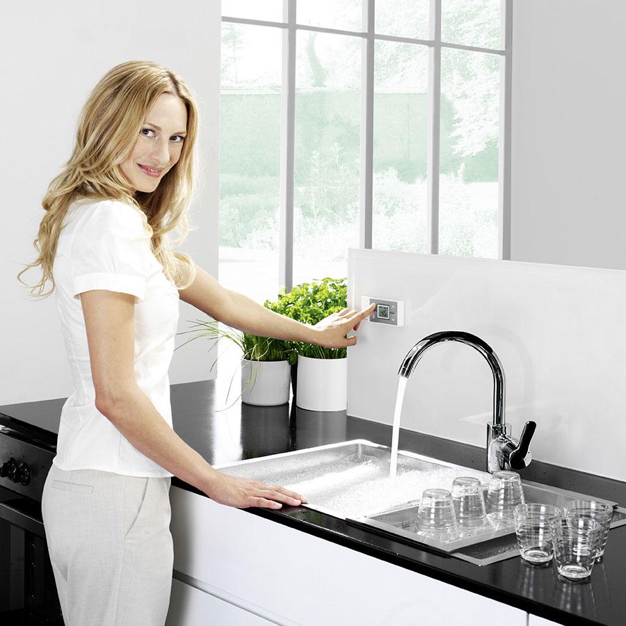 Удаленное управление проточным водонагревателем Clage