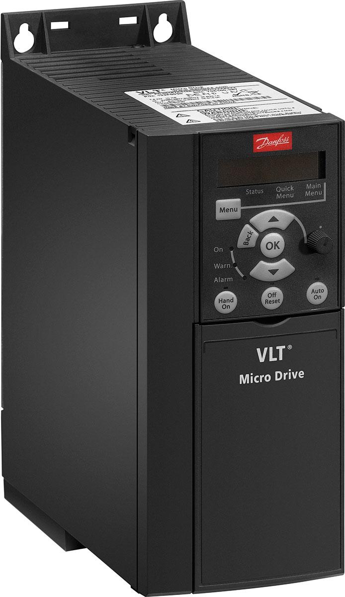Низковольтные преобразователи частоты Danfoss VLT Micro Drive FC 51